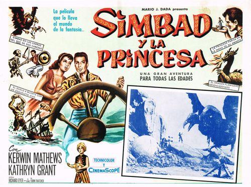 Simbad Y La Princesa Mexican Lobby Card