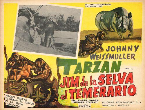Jim De La Selva El Temerario Mexican Lobby Card