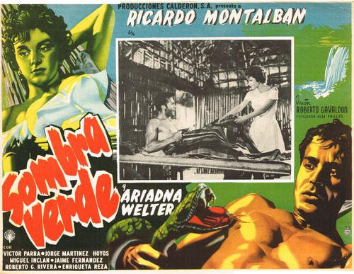 Sombra Verde Mexican Lobby Card