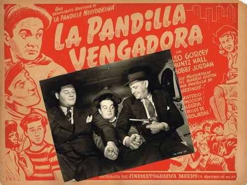 La Pandilla Vengadora Mexican Lobby Card