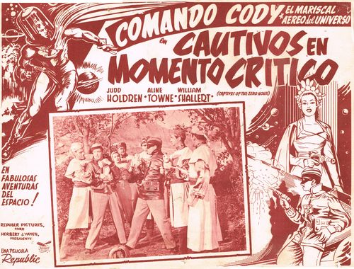 Mexican Lobby Card Comando Cody