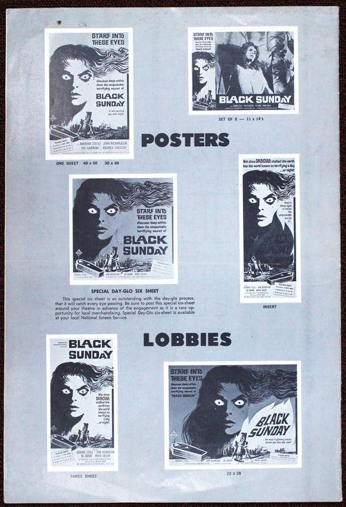 Black sunday pressbook bc
