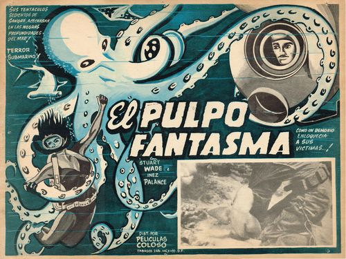 El pulpo fantasma lobby card