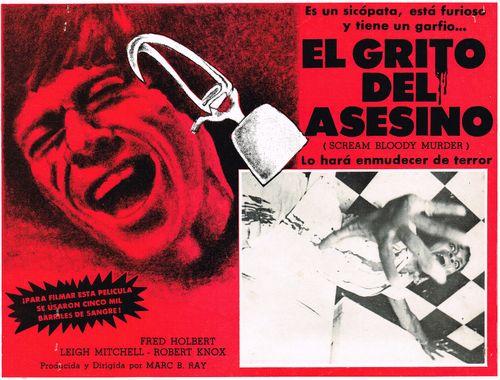 Pressbook El Grito Del Asesino