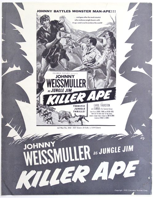 Killer ape pressbook 1