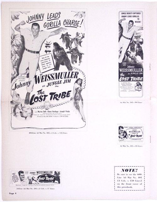 Lost tribe pressbook 4