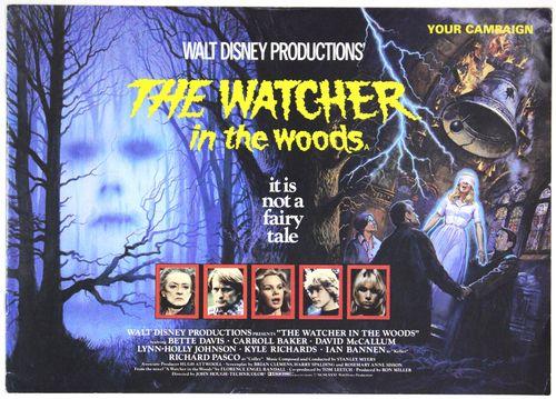 Watcher in the woods pressbook 1