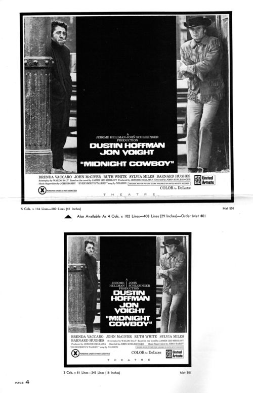 Midnight cowboy pressbook 4