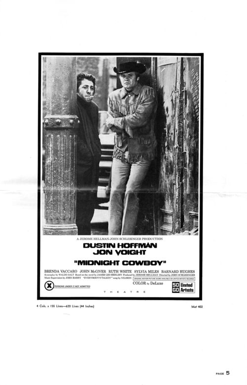 Midnight cowboy pressbook 5
