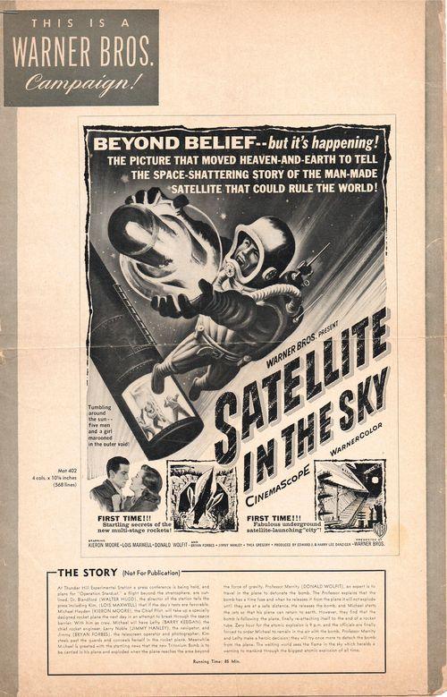 Satellite in sky pressbook 1