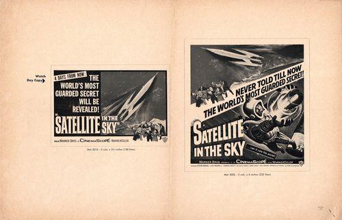 Satellite in sky pressbook