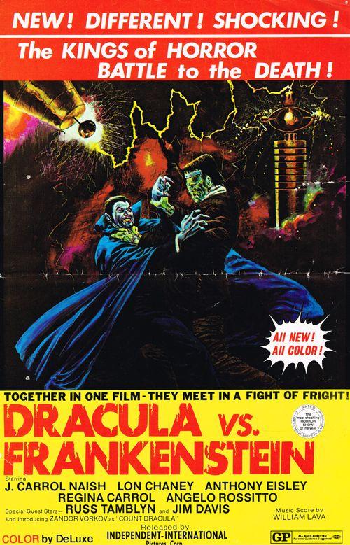 Pressbook Dracula vs. Frankenstein