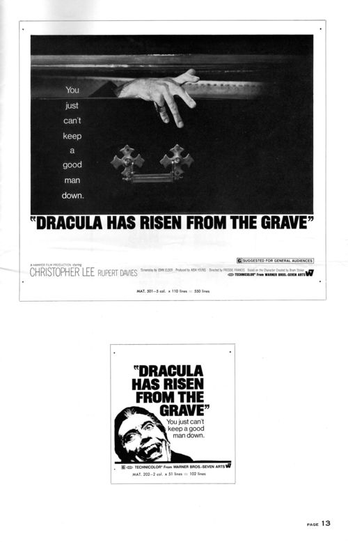 Dracula has risen pressbook 13