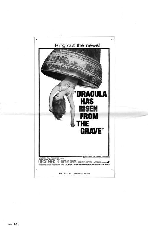 Dracula has risen pressbook 14