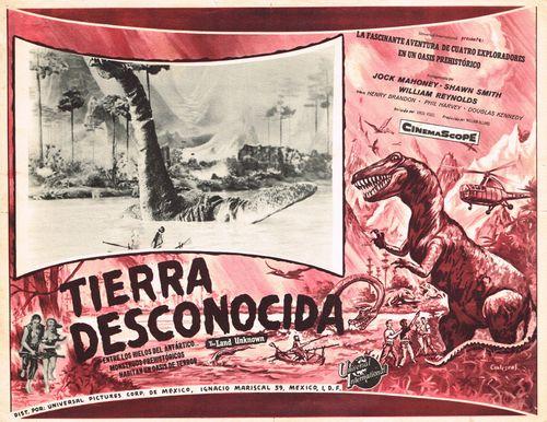 Mexican Lobby Card Tierra Desconocida