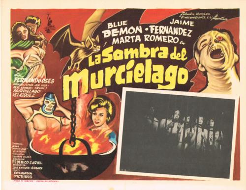 La Sombra Del Murcielago Mexican Lobby Card