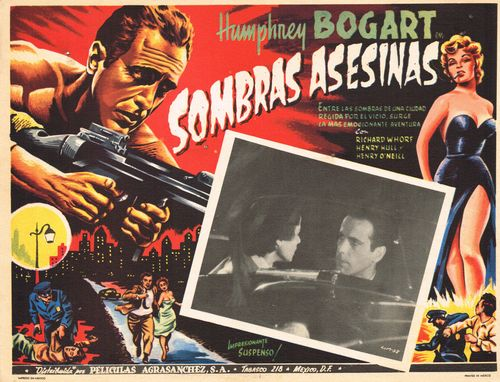 Mexican Lobby Card Sombras Asesinas
