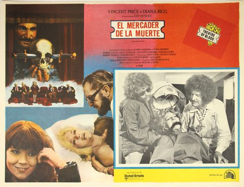 theater of blood mexican lobby card