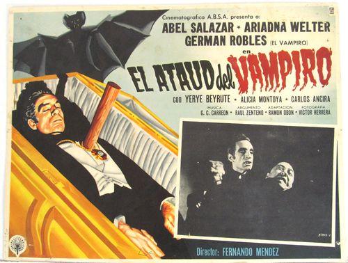 el ataud del vampiro mexican lobby card