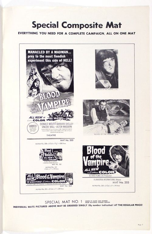 Blood of the vampire 7