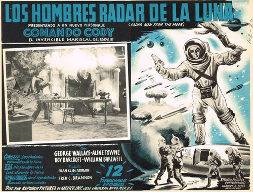 mexican lobby card radar men from moon