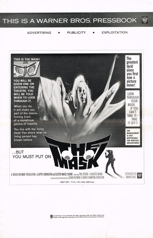the mask pressbook 1