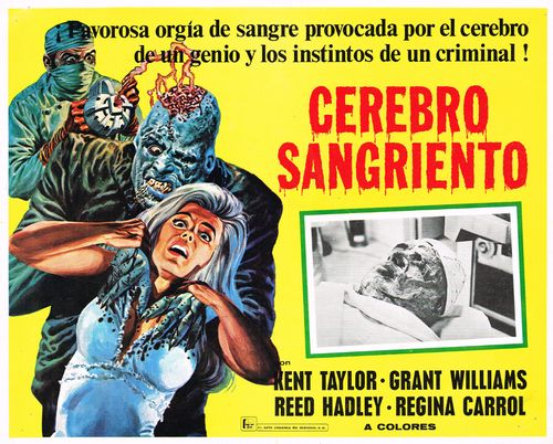 brain of blood mexican lobby card