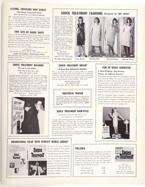 Shock treatment pressbook 3