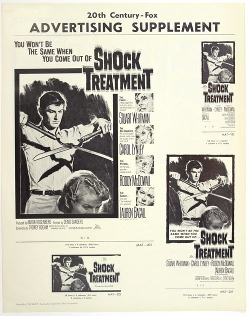Shock treatment pressbook s1