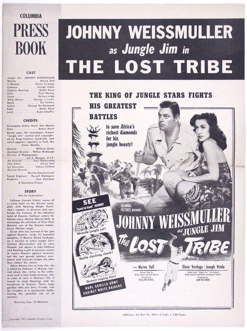 Lost tribe pressbook 1