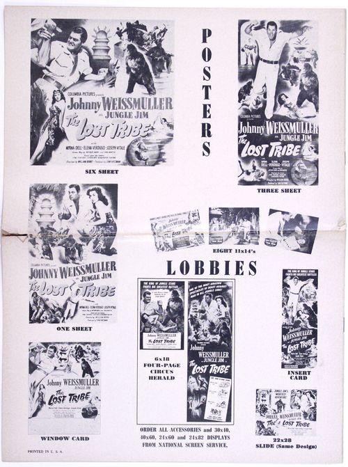 Lost tribe pressbook bc