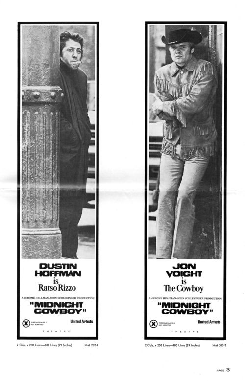 Midnight cowboy pressbook 3