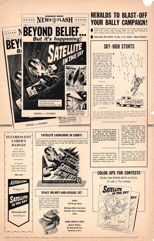 Satellite in sky campaign pressbook