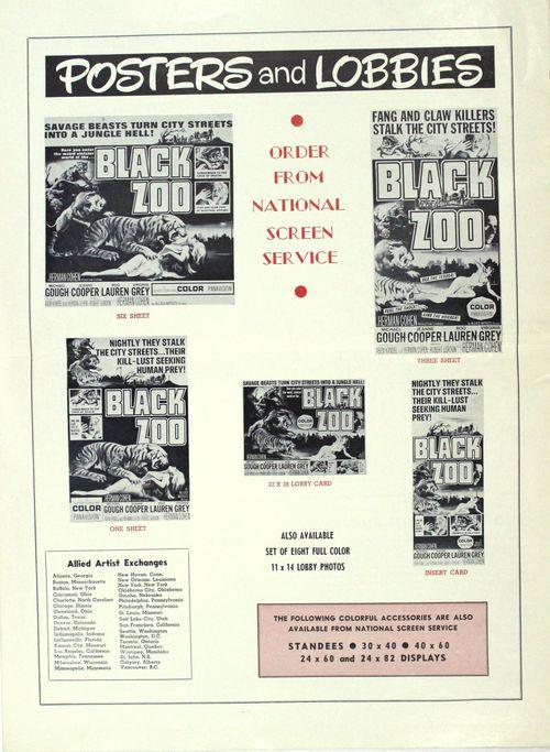 Black zoo pressbook bc