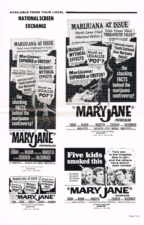 Pressbook mary jane