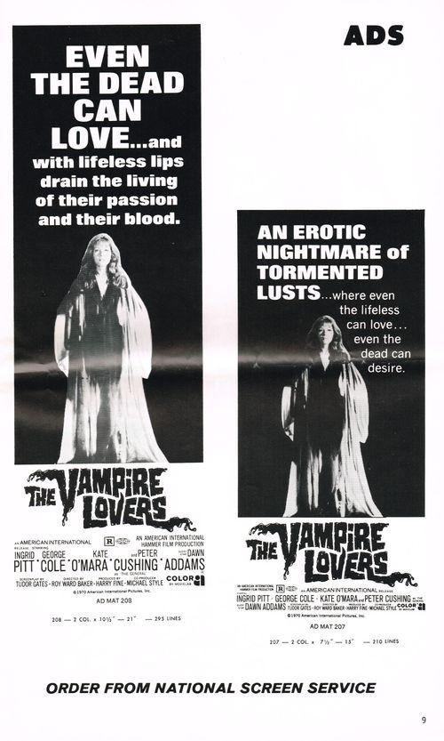 Vampire lovers pressbook 10