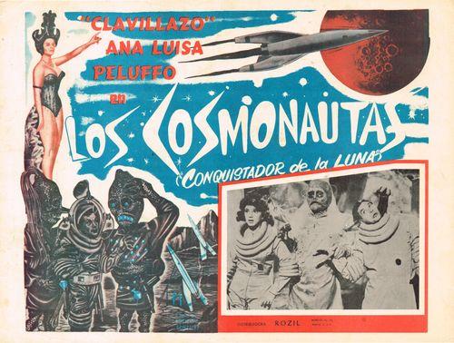 Mexican Lobby Card Conquistador De La Luna
