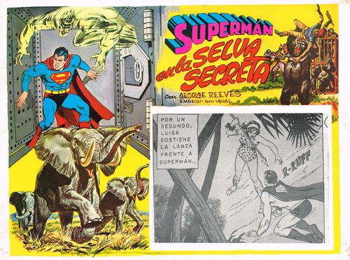 Mexican Lobby Card Superman