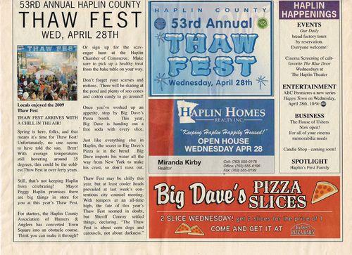happy town show pressbook