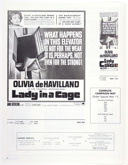 Lady in a cage pressbook 7