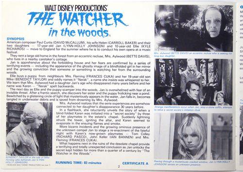 Watcher in the woods pressbook 2