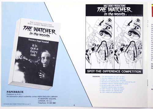 Watcher in the woods pressbook 4