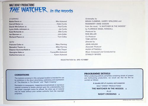 Watcher in the woods pressbook 7