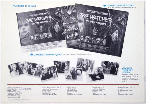 Watcher in the woods pressbook bc