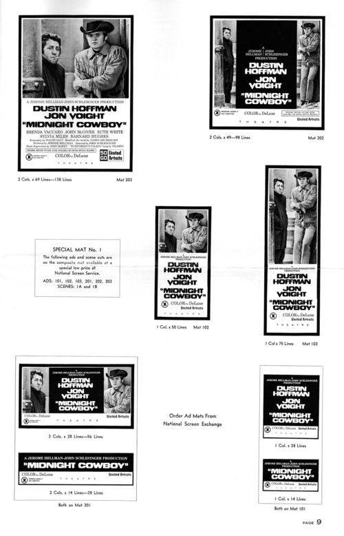 Midnight cowboy pressbook 9