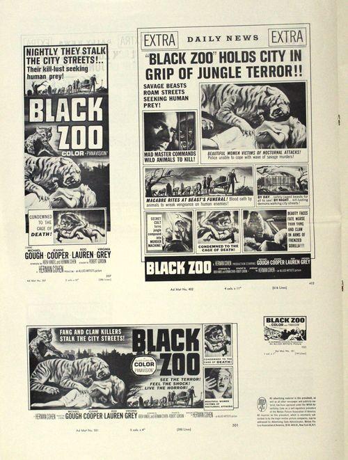 Black zoo pressbook 4