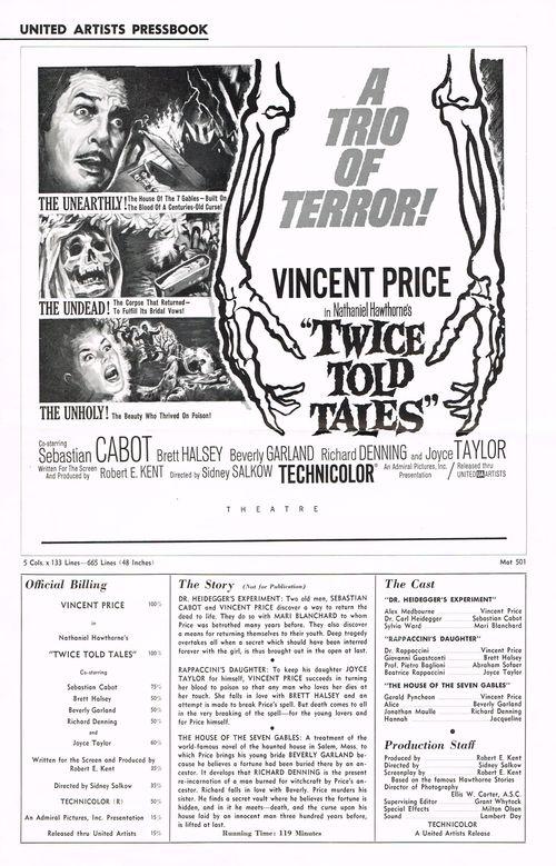 Twice told tales pressbook 1