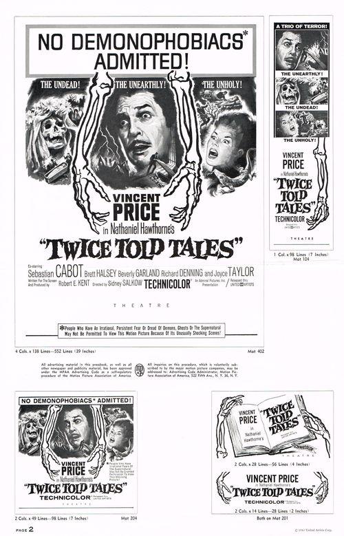 Twice told tales pressbook 2a
