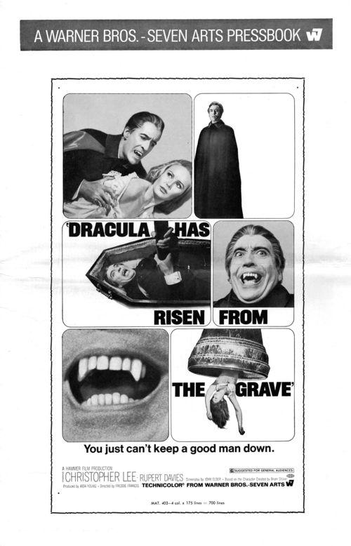 Dracula has risen pressbook 1