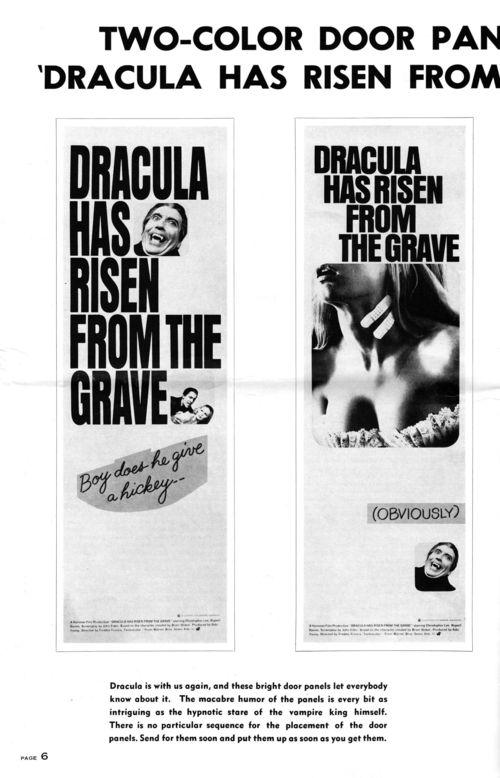 Dracula has risen pressbook 6